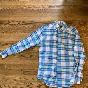 Vineyard Vines Classic Fit Size M Tucker Shirt